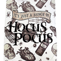 It's Just A Bunch of Hocus Pocus Fleece Blanket - Hocus Pocus - Spirithalloween.com
