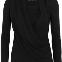 Vivienne Westwood Anglomania - Laeticia draped stretch-jersey top