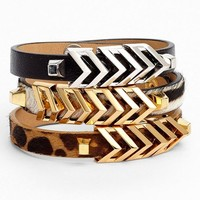 Vince Camuto 'Call of the Wild' Chevron Bracelet (Nordstrom Exclusive) | Nordstrom