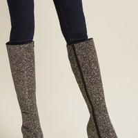 Gone Glitzy Knee High Boot
