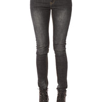 Papaya Clothing Online :: ONE BUTTON SKINNY JEANS