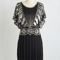 Vintage Inspired Mid-length Short Sleeves Sheath Get the Party Starlet Dress