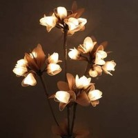 The Light Garden NE-CRF Natural Elements Lighted Crown Flower with 20 Bulbs, 31-Inch Tall