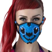 Stitch From Lilo and Stitch Kandi Mask