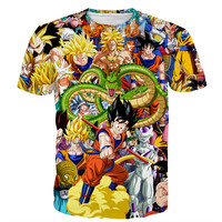 DBZ Ultimate 3d t shirt