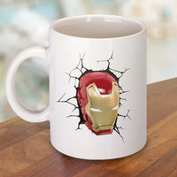 Iron Man Head The Avengers Mug and Cup / Custom Mug / Custom Cup
