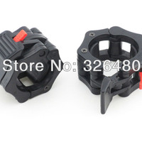"""2"""" barbell lockjaw collars weight lifting crossfit gym easy lock collar clamp"""