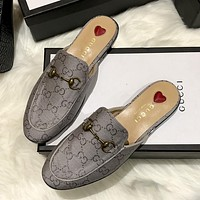GG Women's Half Slippers Shoes