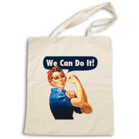 Rosie The Riveter -- Tote Bag