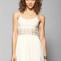 Pins And Needles Sophia Lace-Top Fit & Flare Dress - Urban Outfitters