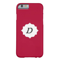 Your Initial Here Alabama Crimson Red Iphone6 Case iPhone 6 Case