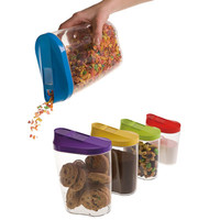 KitchenWorthy 10 Piece Food Storage Container Set & Reviews | Wayfair
