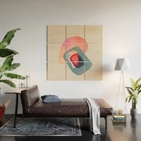 Modern minimal forms 44 Wood Wall Art by naturalcolors