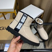 UGG new warm and fashionable all-match short snow boots