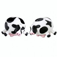 Boston Warehouse Udderly Cows Salt and Pepper Set