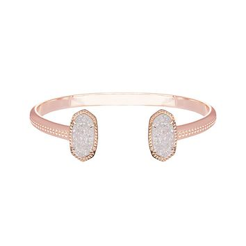 Elton Rose Gold Bracelet in Iridescent Drusy - Kendra Scott Jewelry