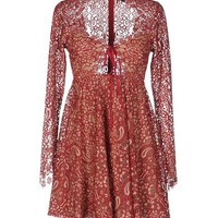 FOR LOVE & LEMONS Short dress - Dresses D | YOOX.COM