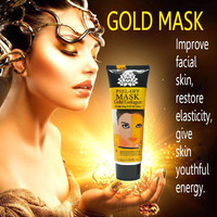120ml 24K golden mask Anti wrinkle anti aging facial mask face care whitening face masks skin care face lifting firming S127