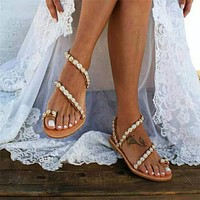 Crystal Women Casual Wedding Shoes