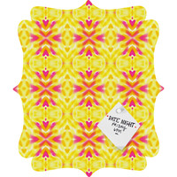 Lisa Argyropoulos Bloom 3 Quatrefoil Magnet Board