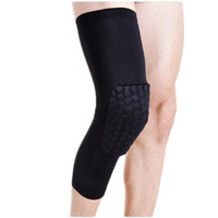 High Quality Knee Support Pads Breathable Basketball Footable Sports Kneepads Shank Honeycomb Pad Bumper Tight Kneelet Legguard