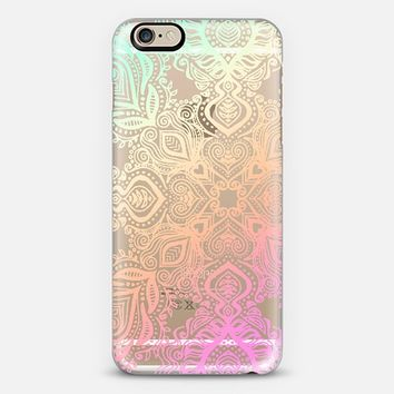 Bold Love Tropical Pastels Lace iPhone 6 case by Micklyn Le Feuvre | Casetify
