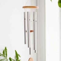 Woodstock Chimes Bali Chime- Silver One