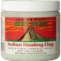 Indian Healing Clay Deep Pore Cleansing, 1 Pound