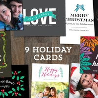 9 Holiday Cards Templates_2