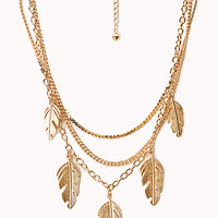 Earthy Multi-Chain Necklace