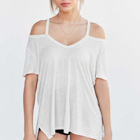 Project Social T Electric Cold Shoulder Tee - Urban Outfitters