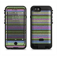 The Colorful Knit Pattern Apple iPhone 6/6s LifeProof Fre POWER Case Skin Set