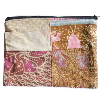 Mini Batik Make-up Case