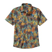 Patagonia Men's Go To Shirt | Neo Tropics Lite: Cusco Orange