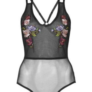 Embroidered Floral Body