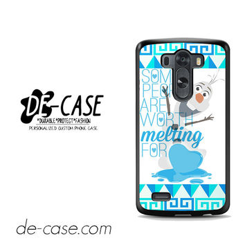 Olaf Quote Disney Frozen For LG G3 Case Phone Case Gift Present
