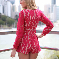 ADDICTED TO LACE PLAYSUIT , DRESSES, TOPS, BOTTOMS, JACKETS & JUMPERS, ACCESSORIES, $10 SPRING SALE, PRE ORDER, NEW ARRIVALS, PLAYSUIT, GIFT VOUCHER, $30 AND UNDER SALE,,JUMPSUIT Australia, Queensland, Brisbane