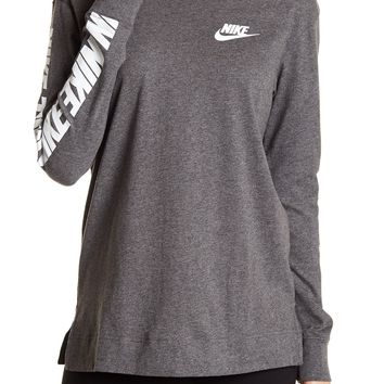 Nike | Graphic Print Long Sleeve Tee | Nordstrom Rack
