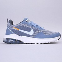 Nike Air Zoom Pegasus 36 New fashion hook print sports leisure shoes Blue