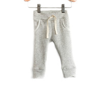 Baby Jogger Sweats in Heather Gray