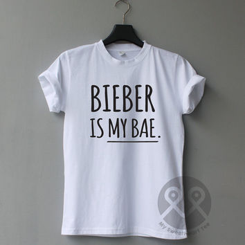 BIEBER is my Bae, Justin Bieber Shirts, band shirts, concert tees, unisex t shirt