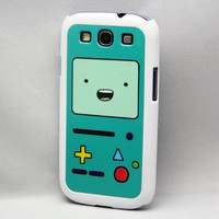 Adventure Time Adventure time Beemo BMO  Samsung Galaxy S3/S4 Rubber Case,S2 / Note 2 Hard Cover iPhone 5 /5C/5S/4/4S , iPod Touch 5/4 Case,