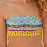Natural Life Bandeau Bra - Gypsy