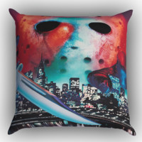 friday the 13th wallpaper Y1240 Zippered Pillows  Covers 16x16, 18x18, 20x20 Inches