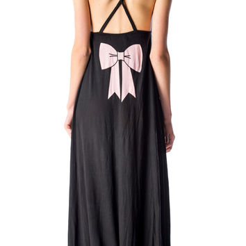 Wildfox Couture Pink Bow Marilyn Dress