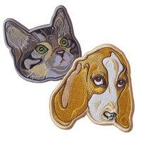 Frenemies iron-on patch pack