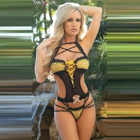 Cute Hot Deal On Sale Stylish Sexy Lace Transparent Set Exotic Lingerie [6596518403]