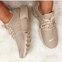 NIKE Air Presto White Small Hook NIKE Air Presto Khaki Fashion Women/Men Running Sport Casual Cushion Shoes Sneakers Nude G-AA-SDDSL-KHZHXMKH