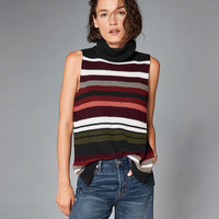 Womens Turtleneck Sweater Tank | Womens New Arrivals | Abercrombie.com