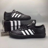 """""""Adidas CourtVantage"""" Unisex Sport Casual Fashion Retro Leather Stitching Sneakers Couple Plate Shoes"""
